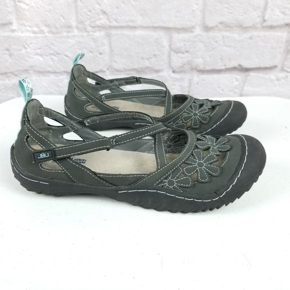 Jambu Jbu Memory Foam Shoes Grey Size